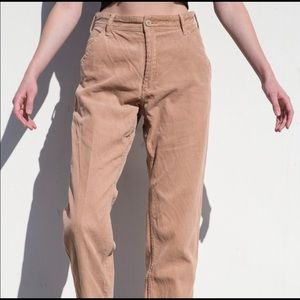 Brandy corduroy pants!